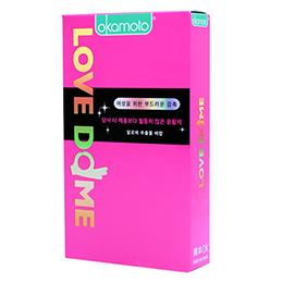 Okamoto Love Dome 1宽松(12个)她sh她对女性有温暖的感觉